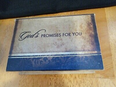 £5.39 • Buy Gods Promises For You Box With Scripture Cards