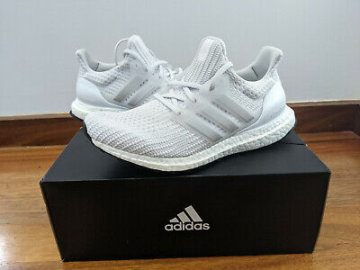 AU195 • Buy Adidas UltraBOOST 4.0 DNA White Silver Men Running Casual Shoes Sneakers FY9317