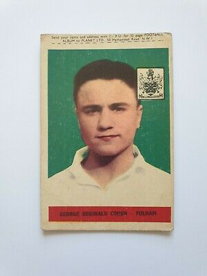 £3.99 • Buy A&BC GUM - FOOTBALL CARDS - 1958 (With Planet) No70 - George Cohen, Fulham