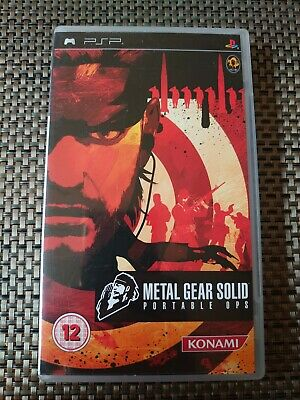 £0.99 • Buy Metal Gear Solid: Portable Ops - Sony PSP / 2007