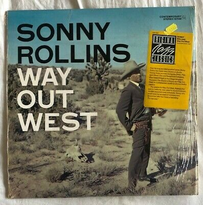 £25 • Buy Sonny Rollins  Way Out West  Very Rare 1988  US Jazz Classic Vinyl Reissue.