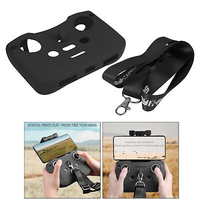 AU22.41 • Buy Silicone Case Cover Skin Shell With Lanyard For DJI Mavic Air 2 / Air 2S /Mini 2