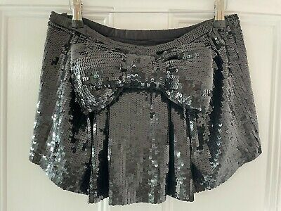 £12 • Buy TOPSHOP BOUTIQUE Sequin Giant Bow Mini Skirt NEW