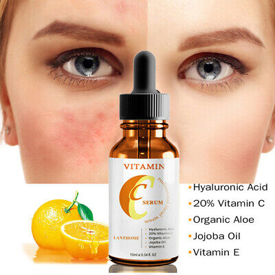 AU12.99 • Buy Vitamin C & E Face Serum With Hyaluronic Acid - Anti Ageing/Aging Anti Wrinkle