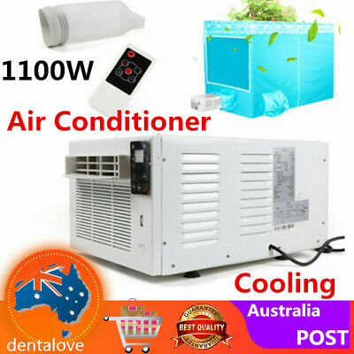 AU213.76 • Buy Window Air Conditioner Portable 1100W Wall Cooler Fan Cooling Only Fit Summer AU