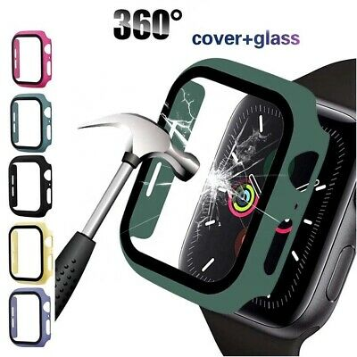 AU6.99 • Buy Apple Watch IWatch SE 6 5 4 Case Full Screen Protector With Cover 44 42 40 38 Mm