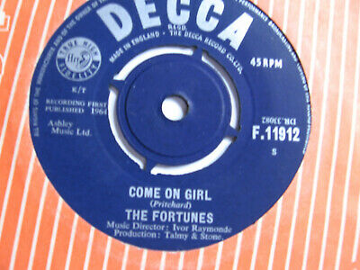 £1 • Buy Fortunes - Come On Girl Vg