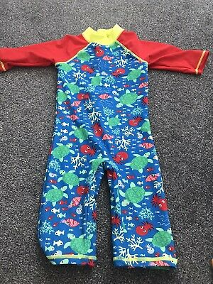 £0.99 • Buy Boys Mini Club All In One Sunsafe Suit Age 4-5 Years