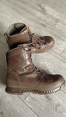 $48.64 • Buy Haix Brown Military Issue Combat Boots Size 10
