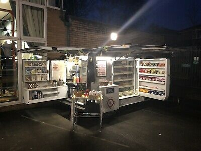 £13500 • Buy Sandwich Catering Van With Wood Fired Pizza And BBQ Station