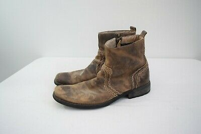 $64.95 • Buy Bed Stu Mens Revolution Rustic Distressed Leather Boots Size 10 Brown