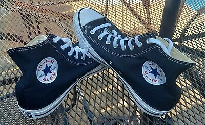 $34.99 • Buy Converse Chuck Taylor All Star High-Top Black Canvas Shoes Men's Size 11