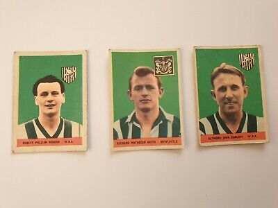 £4.99 • Buy A&BC GUM FOOTBALL CARDS X 3 - 1958 Without Planet - Robson, Keith & Barlow