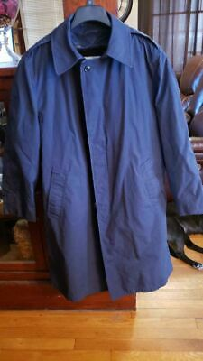 $20 • Buy Military Trench Coat/Rain Jacket, Removeable Liner, Vintage Military, Size 40R