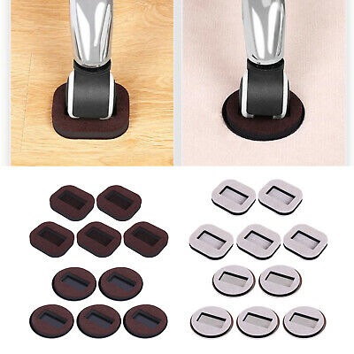 £4.99 • Buy 5x Furniture Wheel Stoppers Caster Cups For Chair Table Sofa Bed