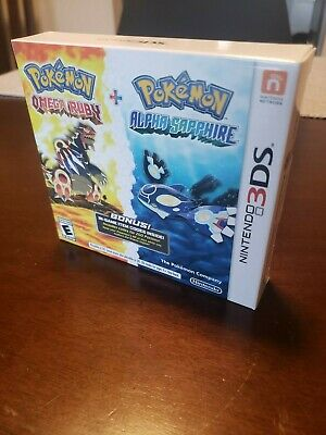 $1500 • Buy Pokemon Omega Ruby/Alpha Sapphire Double Pack New