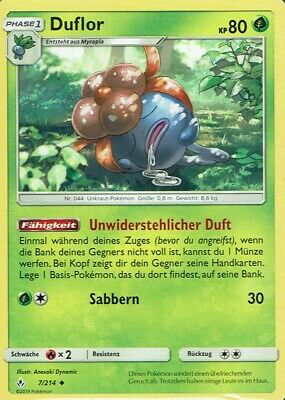 $1.05 • Buy Pokemon Card SM10 Phase 1 Duflor 7/214 Forces IN Line German