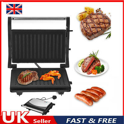 £22.39 • Buy 180° Fold-Out Health Grill Panini Press Machine Electric Sandwich Toaster Maker