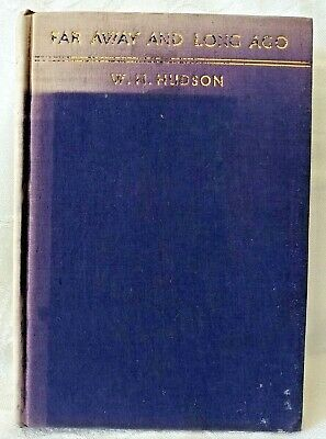 £14.51 • Buy Vintage 1931 Far Away And Long Ago - A History Of My Early Life W.H. Hudson HC