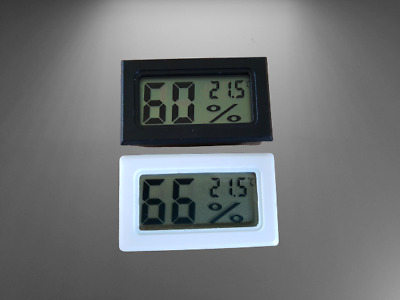 £4.75 • Buy Digital LCD Incubator Hatching Humidity Thermometer Hygrometer With Batteries