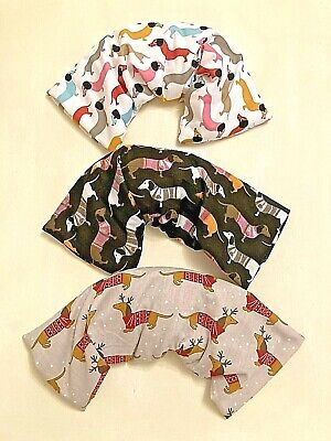 £8.99 • Buy Fun Dacshunds Dogs Microwave Lavender Wheat Bags For Necks & Backs Pain Relief