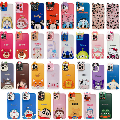 AU5.99 • Buy For IPhone 12 Pro Max 7 XS 11 Cute Cartoon Animal 3D Creativity Lens Case Cover