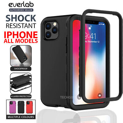 AU10.50 • Buy For IPhone 13 12 11  Pro Max 7 8 SE Case Hybrid Shockproof Heavy Duty Hard Cover