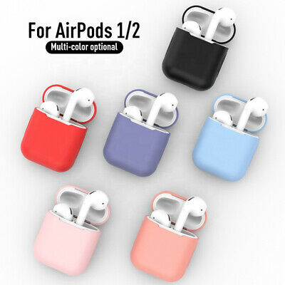 AU4.85 • Buy Soft Silicone Gel Case Protective Accessories Cover Skin Case For Airpods 1 2