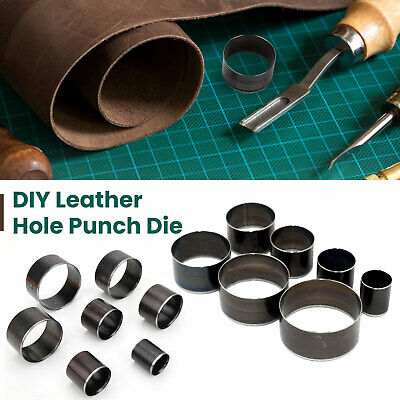 £10.89 • Buy Leather Cutting Hole Punch Dies 7pcs Set Punching Moulds Cutter Tool For Jacket