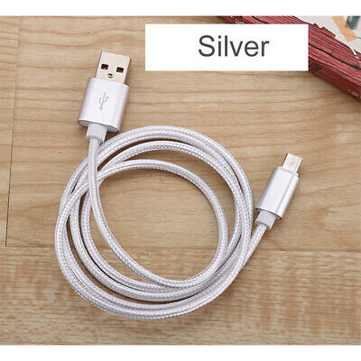 AU1 • Buy  1m 2m USB Type C Fast Charging Cable Universal Nylon Braided Phone Charger Cord