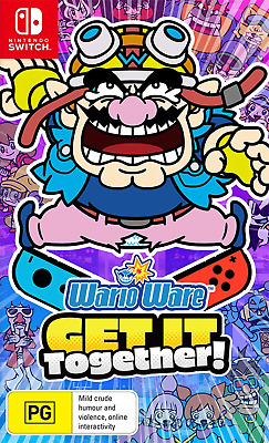 AU66.95 • Buy WarioWare Get It Together Switch Game NEW