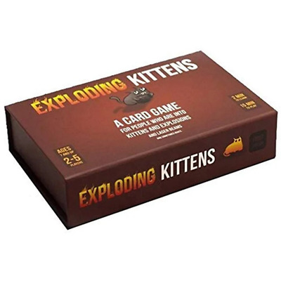AU74.95 • Buy Exploding Kittens First Edition Meow Box Card Game NEW