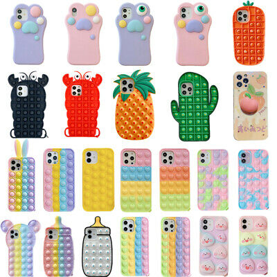 AU10.99 • Buy For IPhone 11 12 Pro Max XS XR 6 7 8 Plus Kids Cute 3D Soft Silicone Case Cover