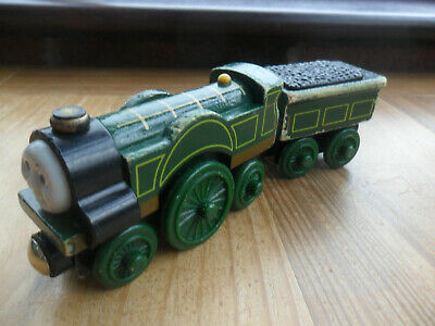 £5.99 • Buy Thomas Tank Engine & Friends Wooden Train - EMILY - LEARNING CURVE PLAYWORN!