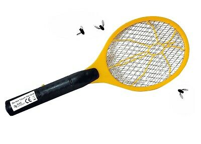 £6.49 • Buy Electric Fly Insect Racket Zapper Killer Swatter Bug Mosquito Wasp Electronic