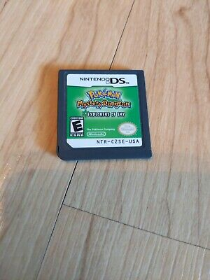$82.95 • Buy Pokemon Mystery Dungeon: Explorers Of Sky (Nintendo DS) Authentic Cart ONLY