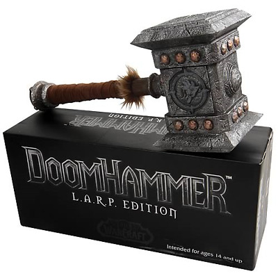 £192.73 • Buy Doomhammer LARP (L.A.R.P.) Edition World Of Warcraft By Epic Weapons EW-1066