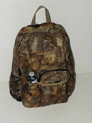 £18.32 • Buy CABELAS Advantage Timber Camo Camouflage  Backpack Camping & Hunting