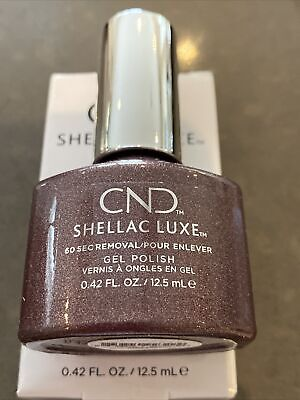 £4.99 • Buy 1 CND SHELLAC LUXE™️ UV Nail Polish 60 Seconds Quick Removal Grace 12.5ml ✨
