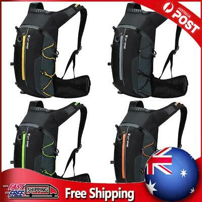 AU23.69 • Buy 10L Waterproof Cycling Backpack Breathable Pouch Hiking Bicycle Rucksack Bag AU