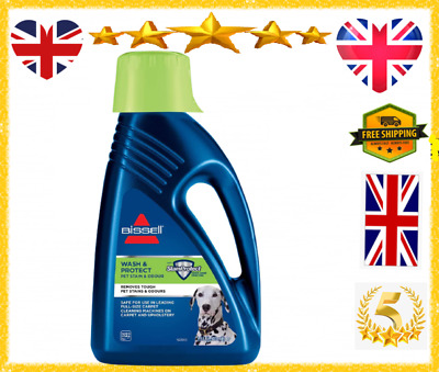 £21.38 • Buy Bissel PET CARPET SHAMPOO Cleaner Wash And Protect Fragrance Bleach-Free 1.5L
