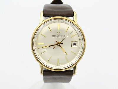 £82.56 • Buy Vintage Eterna-matic 2-tone Automatic Men's Watch Date Champaign 34mm Nr# Wb83-7