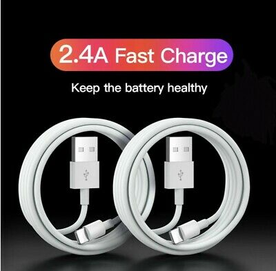 £2.89 • Buy Genuine IPhone Charger For Apple Long Cable USB Lead 5 6 7 8 X XS XR 11 12 Max