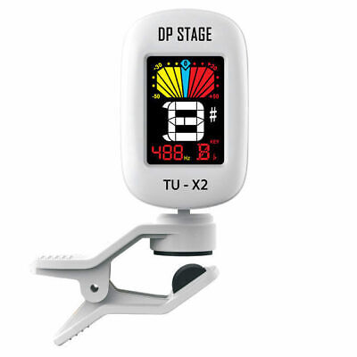 AU19.95 • Buy Chromatic Clip On Guitar Tuner Full Colour LCD Display DP Stage TUX2