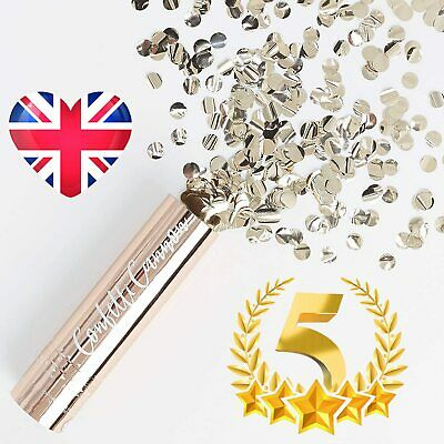 £3.31 • Buy Ginger Ray Rose Gold Confetti Filled Party Cannon Popper Shooter