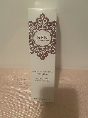 £19.50 • Buy REN Clean Skincare Moroccan Rose Otto Body Lotion 200ml Rrp £28