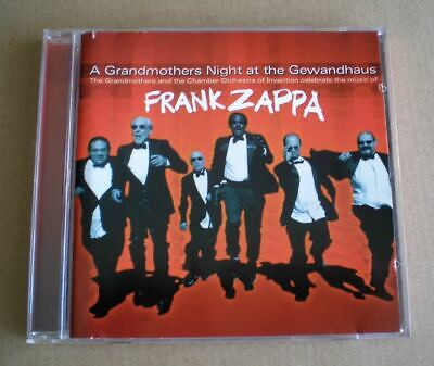 £8 • Buy CD Former Mothers Of Invention Play Zappa / Night At The Gewandhaus 2003 CD NM