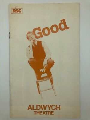 £4.95 • Buy Good - RSC- Aldwych Theatre - May 1982 - Alan Howard Theatre Programme