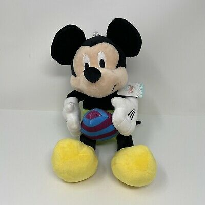 £7.60 • Buy Disney Store Mickey Mouse Easter Plush Doll Holding Egg Ball Stuffed Animal Toy