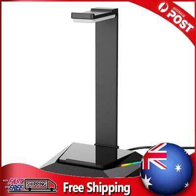 AU29.74 • Buy Gaming Headset Stand RGB USB Headphones Display Holder For Gamer Gaming PC